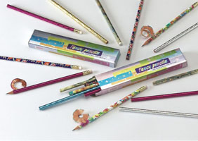 Fancy Pencils Packaging