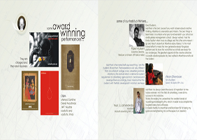 Manthan Brochure Design